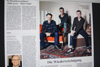 The Jeremy Days in Die Welt Hamburg