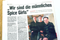 The Jeremy Days in der Hamburger Morgenpost